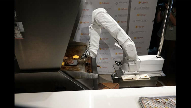 Flippy is the first of hundreds of burger flipping robots, set to be rolled out over the next couple years.