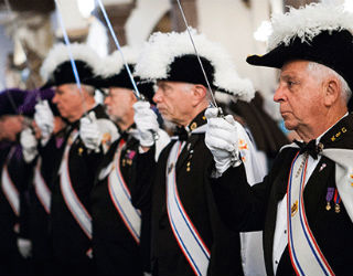 Nearly two million men are a part of the Knights of Columbus.