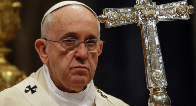 Pope Francis has warned Christians about spiritual warfare.