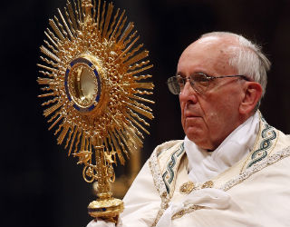 Without the Eucharist, everything the Church does is vain.