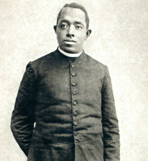Fr. Tolton was the first African-American priest.