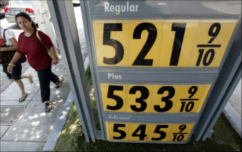 Gas has reached over $5.00 in some places and is continuing to rise.