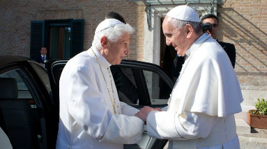 Pope Francis, like Pope Emeritus Benedict, will retire from the papacy.