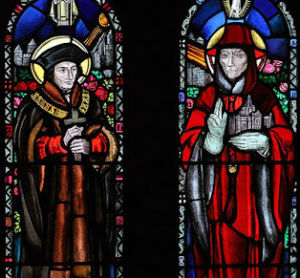Sts. Thomas More and John Fisher share the same Feast Day.