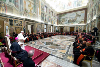 No to women priests, yes to women in the Curia