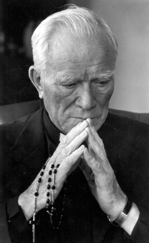 Father Patrick Peyton is known as the Rosary Priest.
