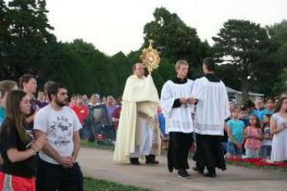Adoration Under the Stars begins in Kansas