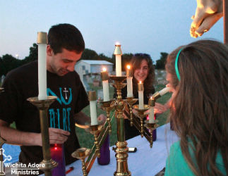 Wichita Adore Ministries holds an Adoration Under the Stars each year.