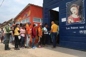 Colombian diocese has served 1 million meals to Venezuelan migrants