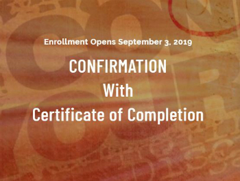 Confirmation with Certificate of Completion coming soon to Catholic Online School