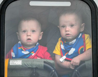 Jenson and Ruben Powell were born at 22 weeks.