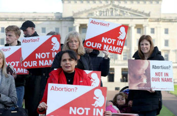 Abortion legalized in N Ireland, after deadlock in devolved legislature