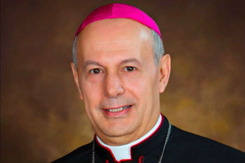 Pope Francis names Archbishop Gabriele Caccia ambassador to the United Nations