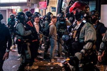 Hong Kong protesters arrested at Catholic church