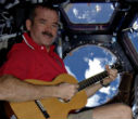Image of Canadian Astronaut, Colonel Chris Hadfield (ret.) has a message of optimism for the new Year.