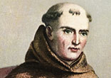 Image of Pope Francis will canonize Blessed Junipero Serra, the heroic 'Apostle of California.' in September 2015.