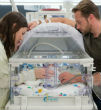Image of The Busby family welcomes healthy all-girl quintuplets.