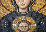 Image of Beautiful mosaics in the Hagia Sofia Museum