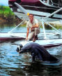 Image of The popular TV series Flipper back in the 1960's.