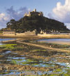 Image of St. Michael's Mount is located on an area that is supposedly part of a mythical kingdom that was destroyed by the sea.