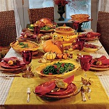 Image of Around tables throughout America, children, grandchildren and great-grandchildren gather with mothers and fathers, Grandpas and Grandmas, extended family, neighbors and friends to thank God and one another. And then, we feast; not only on the food, but even more importantly, on the gift of the love which informs all family relationships and true friendships, the real source of lasting joy, the love of the God who gave us life and liberty.