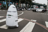 Image of The Knightscope robots can already fulfill most of the functions of a security guard.