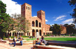 Image of UCLA is on lockdown.