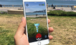 Image of Pokemon Go is an augmented reality game. Your smartphone superimposes the game over reality on your phone.
