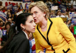 Image of Clinton's promotion of Abedin reveals she cares little about the people she claims to care about.