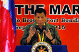 Image of President Duterte is fighting a war. It is between him, his people and God, how the war should be fought. Nobody else has the right to criticize. What would any good president order if his country were invaded?