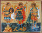 Image of The three Archangels mentioned in the Bible are Michael, Gabriel and Raphael.
