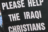 Image of Iraqi Christians need help.