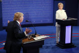 Image of The third presidential debate resulted in a Trump victory as the Republican nominee soft-launched his own television network.