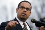 Image of Democrats may appoint liberal Muslim Keith Ellison as their next party chair.