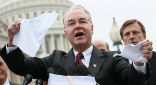 Image of Tom Price (R-GA) has been asked to head the HHS. His appointment is a signal that Obamacare will be repealed.