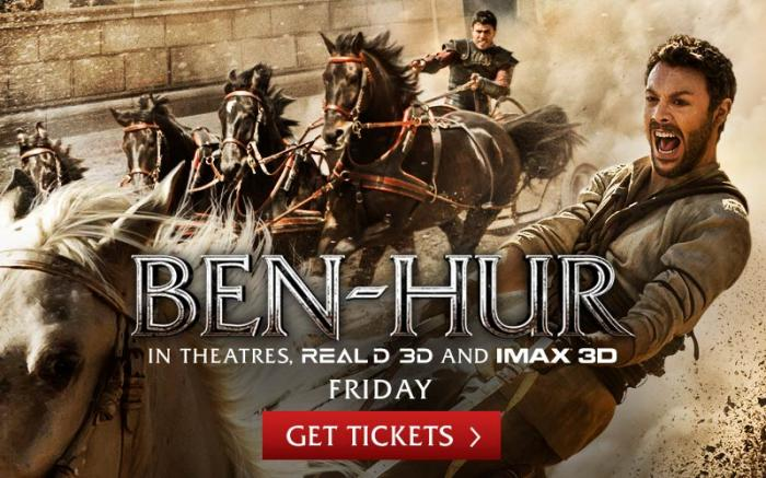 New 'Ben-Hur' stands in shadow of Wyler's 1959 epic
