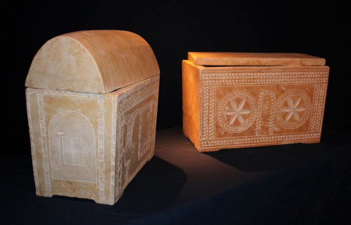 Ossuaries from the Talpiot Tomb have inscriptions on them that some say link them to Christ.