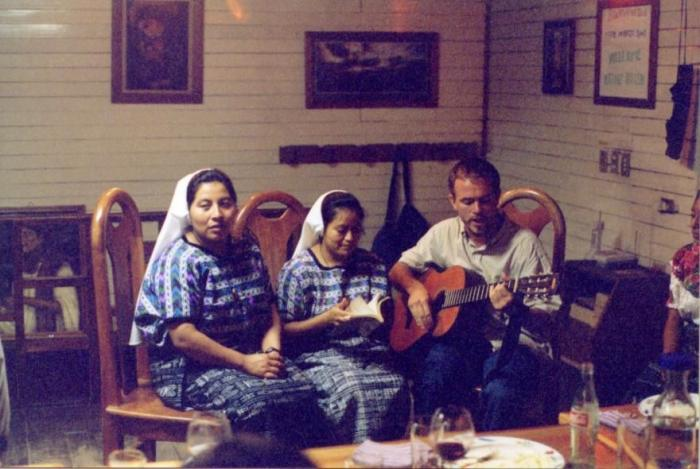 Father Rother remained in war-torn Guatemala for the faith.
