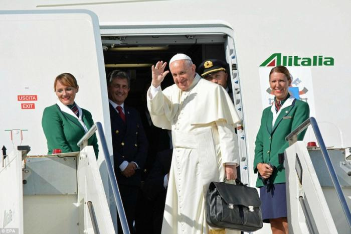 The Pontiff admitted his distaste for travel but understands his role in spreading hope.