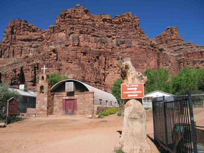 Beautiful Village Hidden Deep Inside The Grand Canyon