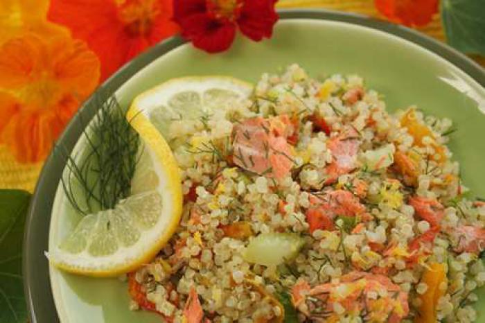 Lemony Quinoa Salad
