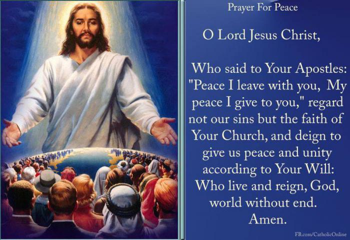 Your Daily Inspirational Meme: Prayer For Peace - Socials