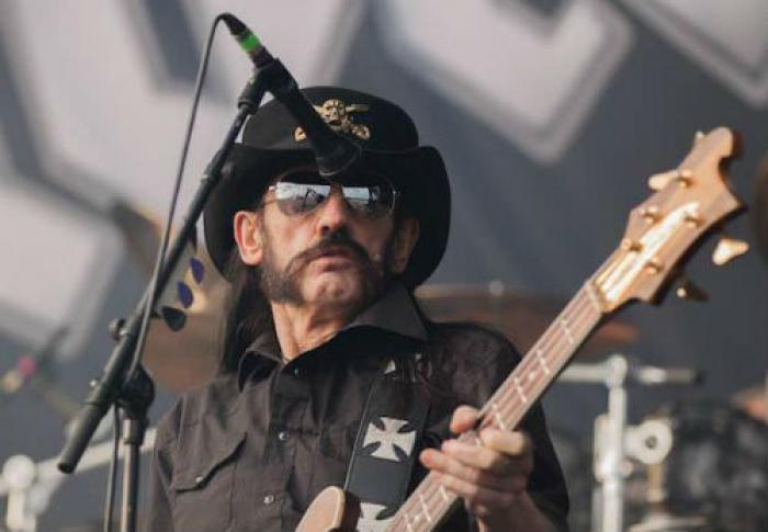 FIERCE rock singer who in reality was a nice guy, Lemmy of