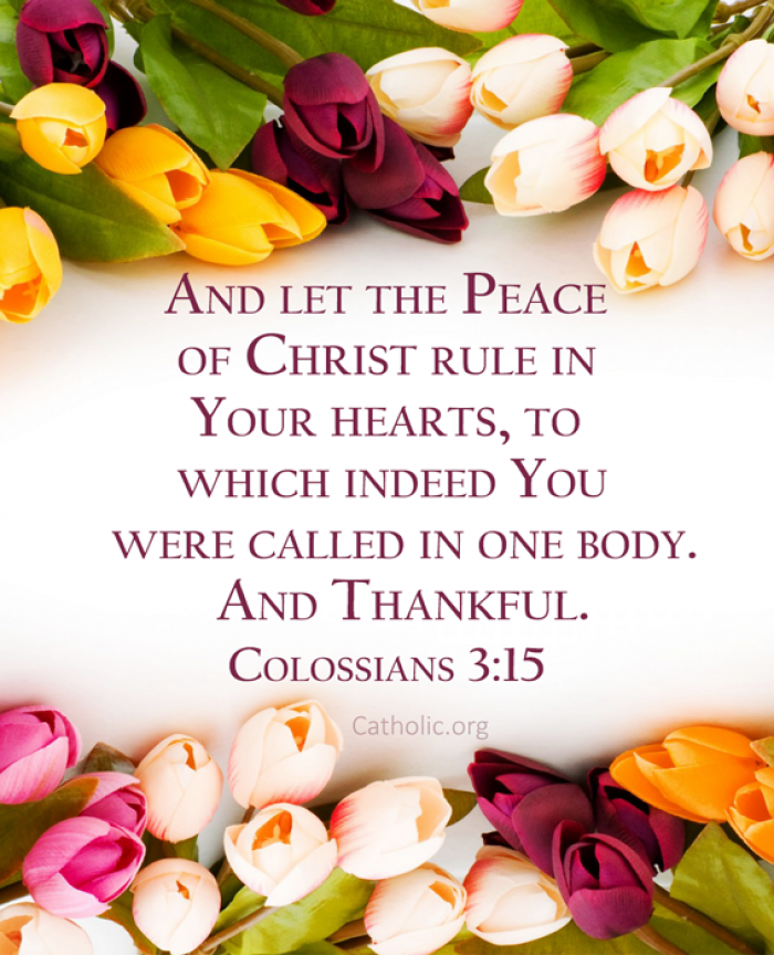 The peace of Christ