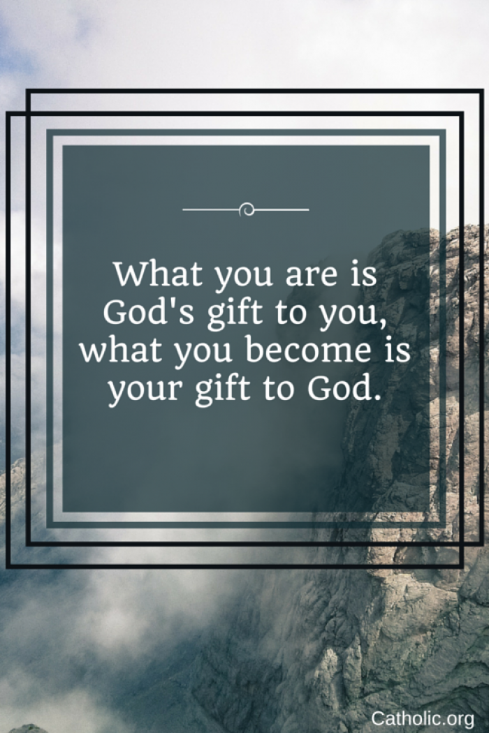 Your gift to God