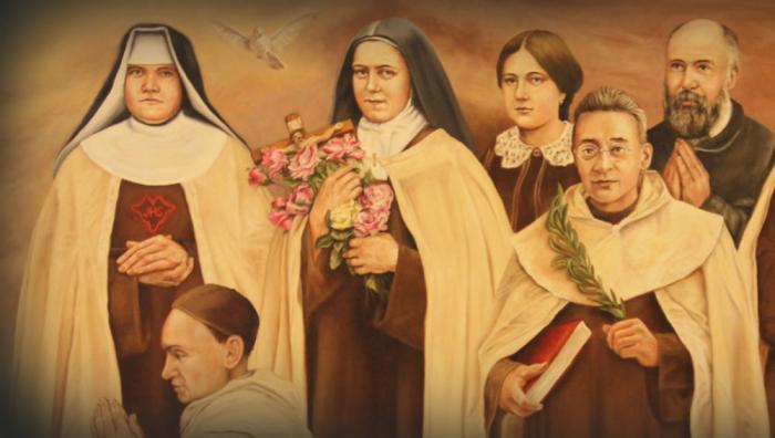 St. Elizabeth was a Carmelite nun.