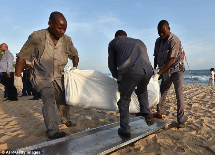 Muslim terrorists hunt Christians on African beach