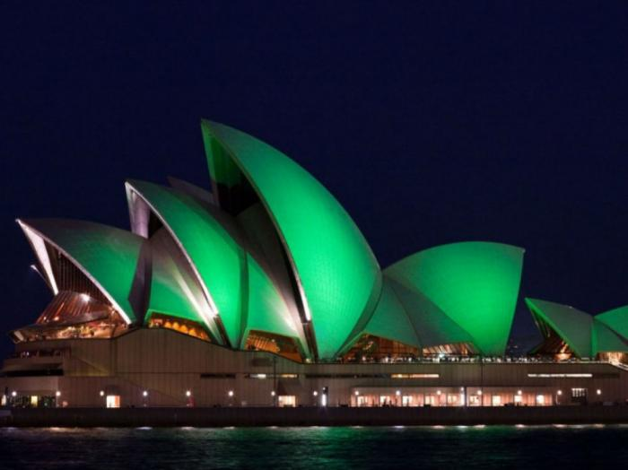 Celebrate an Irish parade in Australia.