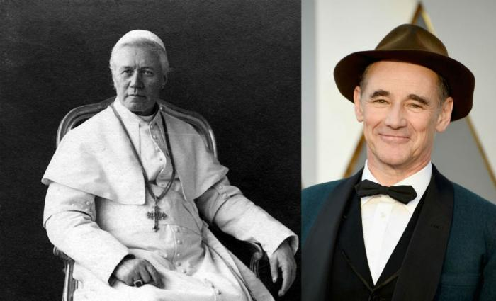 "Actor Mark Rylance will be playing the role of Pope Pius IX in the upcoming Speilberg film ""The Kidnapping of Edgardo Mortara."""