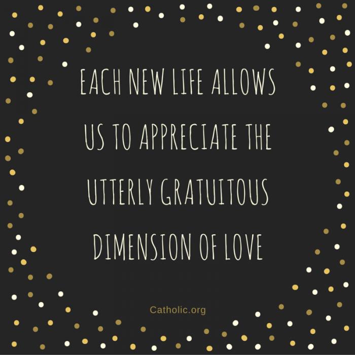 Appreciate life, appreciate love
